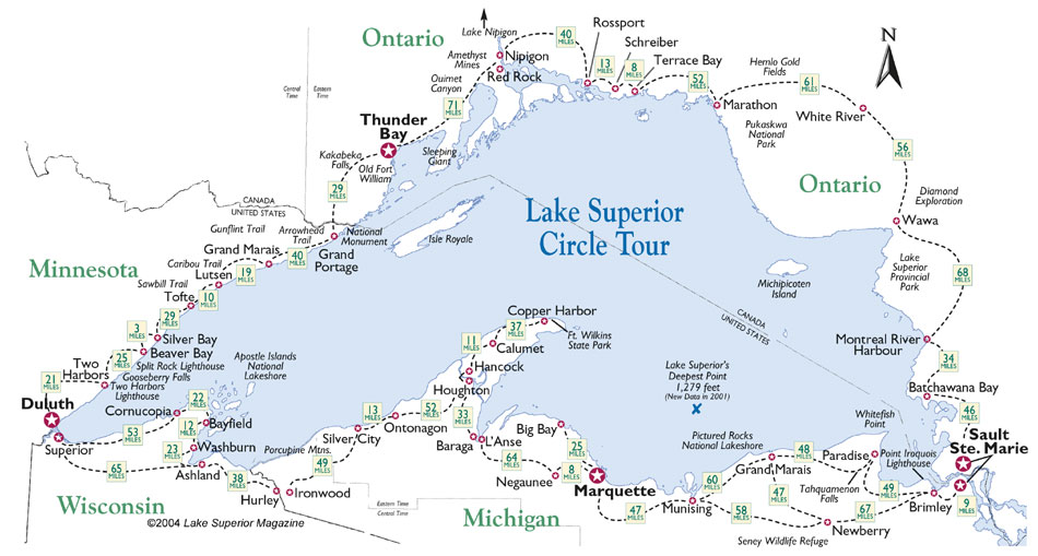 Lake Superior Circling the Lakes