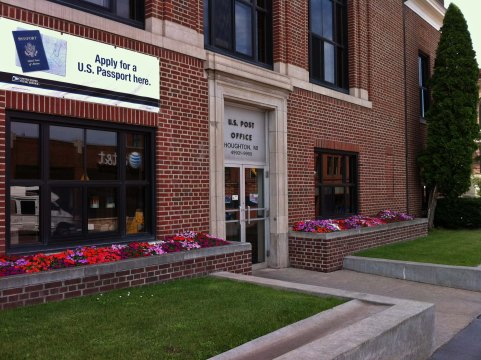 Post Office in Houghton, Michigan